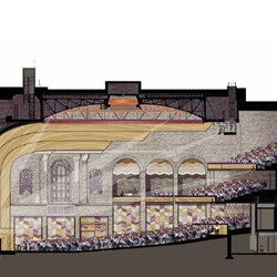 Artist's impression of the main performance hall -